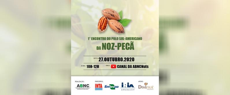ABNC Nuts realizará 1º Encontro do Polo Sul-Americano da Noz-Pecã